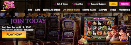 SlotJar best online slots UK games and bonuses