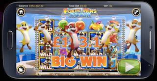 real cash online slots wins