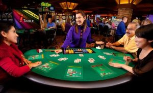 Blackjack , Roulette and Poker Gaming